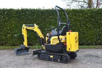 Yanmar Dual Power ViO 10 Micro-graafmachine
